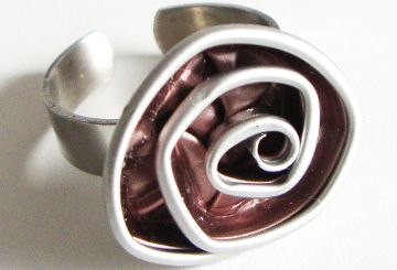 Ring Kaffee Rose