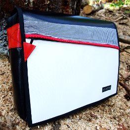 Tasche Karo blau-weiß-rot